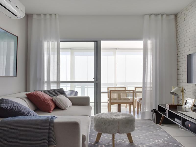 Apartamento pequeno alugado ganha reforma barata e sem quebra-quebra