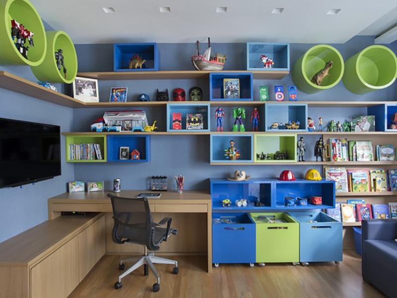 Quarto infantil azul: 10 ideias de decoração para se inspirar!