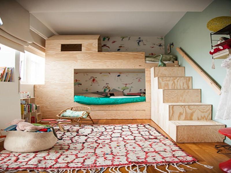 Décor do dia: quarto infantil com beliche planejada