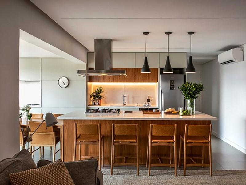 Reforma de apartamento prioriza hobbies e profissões de moradores